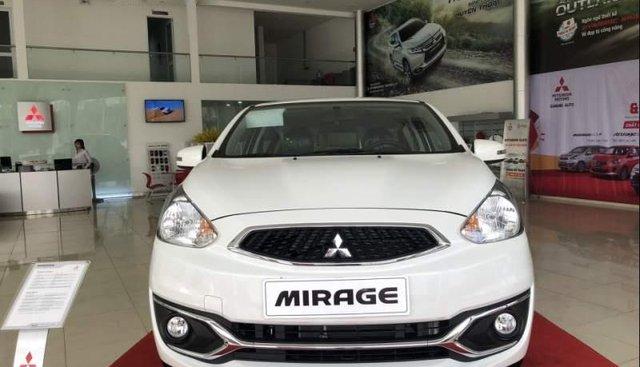 Bán xe Mitsubishi Mirage năm 2019, màu trắng, xe nhập
