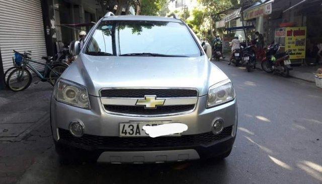 Bán Chevrolet Captiva 2008, màu bạc, nhập khẩu