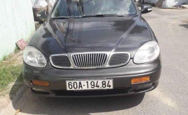 Cần bán xe Daewoo Leganza 2001, màu xám, xe nhập
