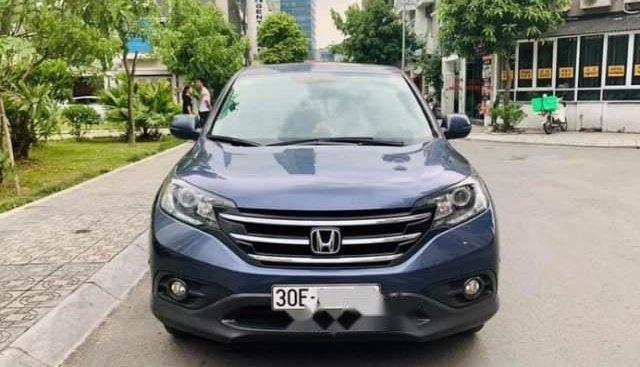 Cần bán xe Honda CR V 2.4AT 2014, màu xanh tím