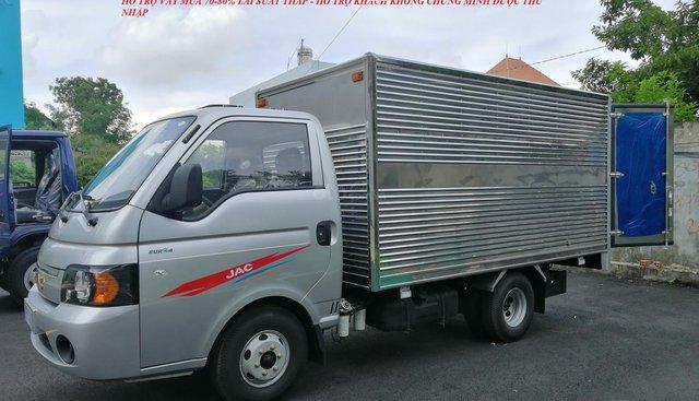 Bán xe JAC 1,25 tấn thùng 3M2, hỗ trợ vay cao lãi suất thấp liên hệ 0376614205