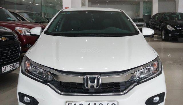 Bán xe Honda City năm sản xuất 2017, màu trắng, biển số SG