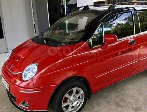 Cần bán Daewoo Matiz SE 0.8 MT đời 2006, màu đỏ