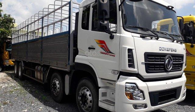 Xe tải Dongfeng 4 chân tải trọng 17 tấn 9, nhập khẩu, đời 2017