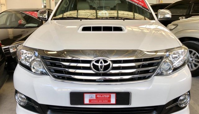 Toyota chính hãng- Fortuner dầu - hỗ trợ ngân hàng 75%