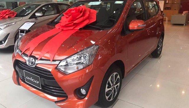 """Xe Toyota Wigo 1.2G AT 2019, khuyến mãi cực """"Khủng"""" tại Toyota Lý Thường Kiệt. Hỗ trợ góp 85%, xe đủ màu giao ngay"""