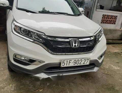 Bán Honda CR V năm sản xuất 2016, màu trắng, xe nhập, xe đi kỹ