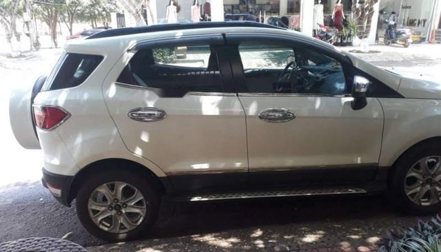 Bán xe Ford EcoSport đời 2015, màu trắng, xe bảo trì liên tục
