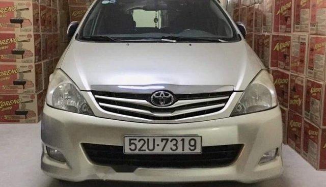 Bán Toyota Innova đời 2009, màu bạc, zin từ trong ra ngoài