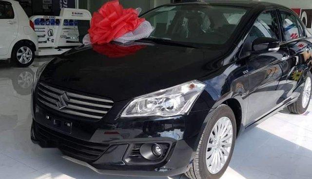 Cần bán xe Suzuki Ciaz sản xuất 2019, màu đen, nhập khẩu, có sẵn giao ngay