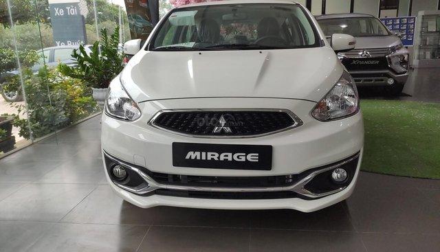 Bán Mitsubishi Mirage sản xuất năm 2019, màu trắng, nhập khẩu