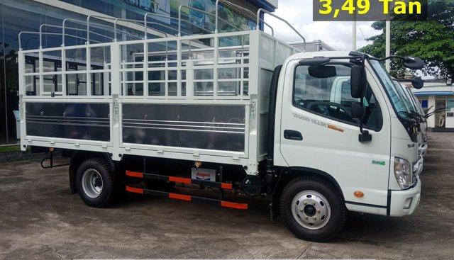 Bán xe Thaco Ollin350. E4 - 2,2 tấn, màu trắng. Hỗ trợ trả góp 75% ở Bình Dương - LH: 0944.813.912
