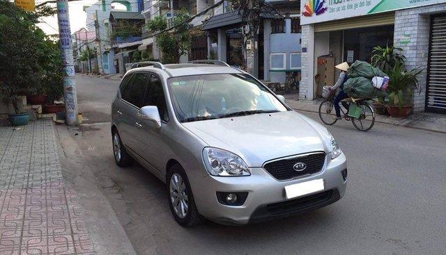Cần bán xe Kia Carens 2013 số sàn màu bạc, odo 67.000km