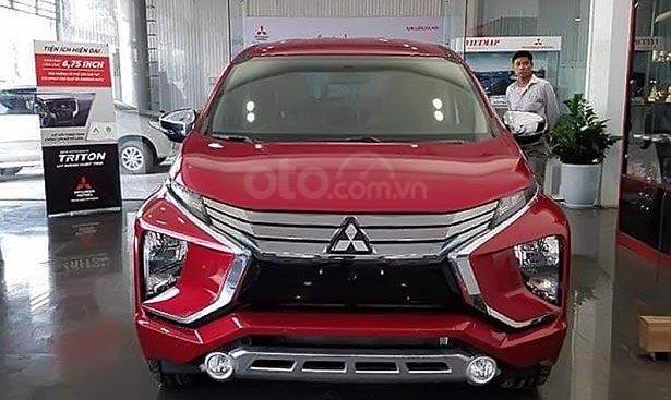 Bán ô tô Mitsubishi Xpander 1.5 AT năm 2019, màu đỏ, nhập khẩu