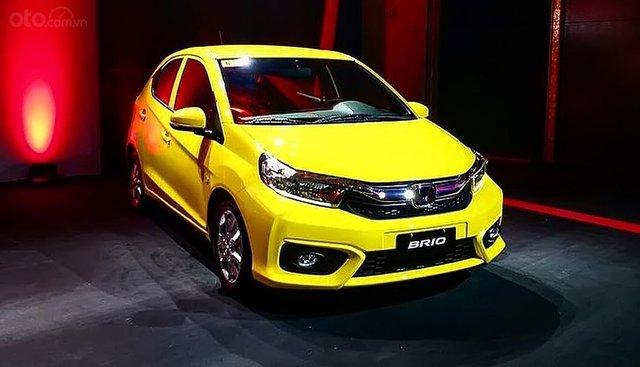 Cần bán xe Honda Brio RS sản xuất 2019, màu vàng, nhập khẩu