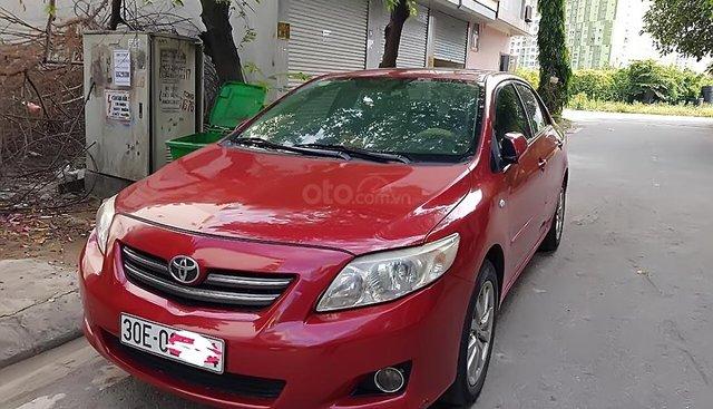 Bán xe Toyota Corolla altis 1.8 AT đời 2009, màu đỏ, nhập khẩu