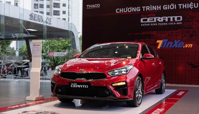 Cần bán Kia Cerato sản xuất năm 2019, màu đỏ, giá chỉ 559 triệu