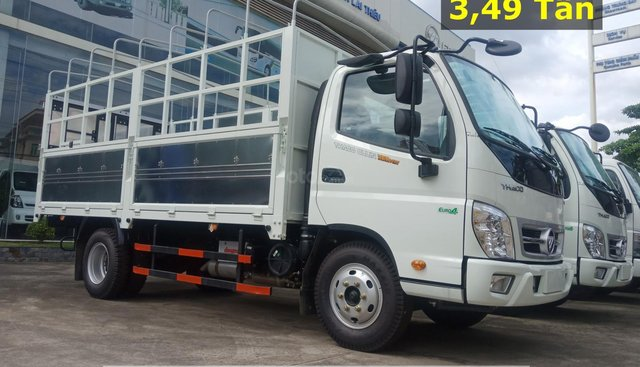 Xe tải 3,5 tấn Thaco Ollin350. E4, động cơ Isuzu tại Bình Dương. Liên hệ ngay Mr. Khoa - 0944.813.912