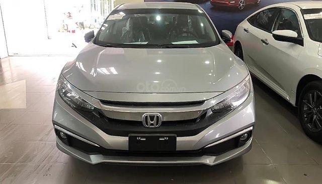 Bán Honda Civic 2019, màu bạc, xe nhập