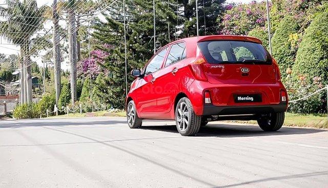 Bán xe Kia Morning AT sản xuất năm 2019, màu đỏ, 355 triệu