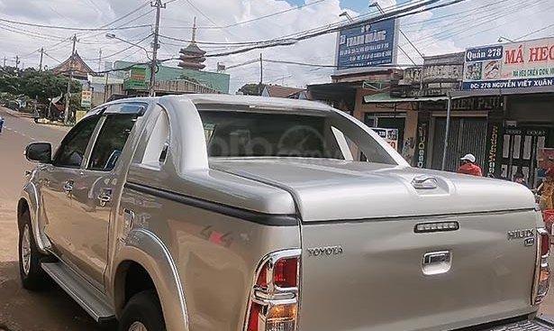 Bán Toyota Hilux năm 2012, màu bạc, xe nhập