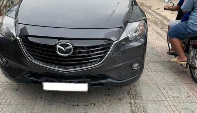 Cần bán xe Mazda Cx9 2015 số tự động màu xám