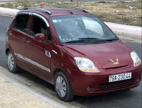 Bán xe Chevrolet Spark sản xuất 2009, màu đỏ, gầm bệ còn nguyên