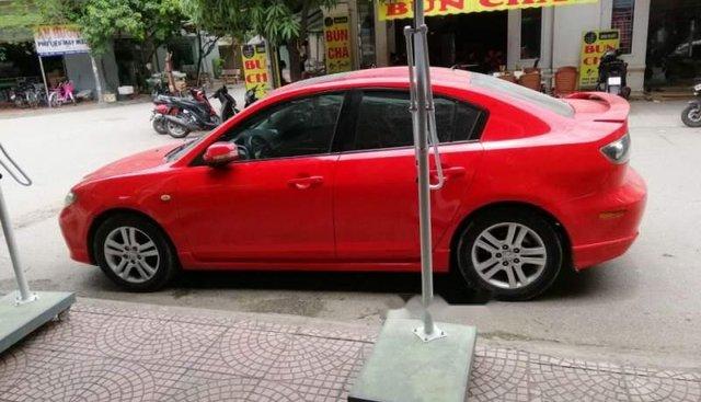 Cần bán Mazda 3 đời 2009, màu đỏ, xe nhập chính chủ, giá 330tr