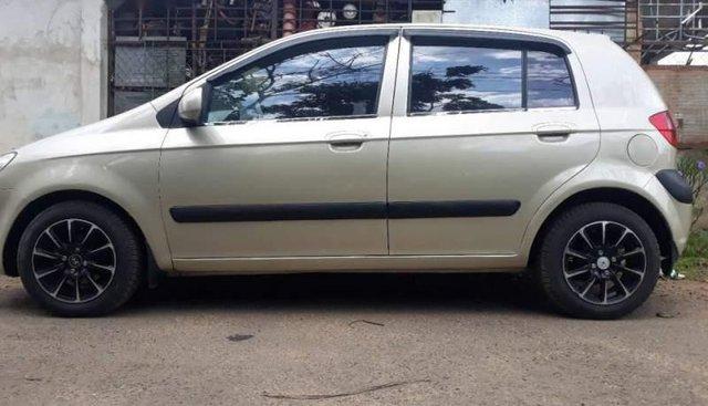 Bán Hyundai Getz sản xuất năm 2008, màu vàng, nhập khẩu