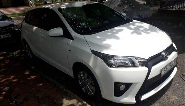 Bán Toyota Yaris 1.3 E 2016, màu trắng chính chủ, giá 580tr