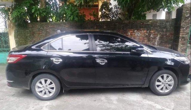 Chính chủ bán Toyota Vios đời 2017, màu xanh đen
