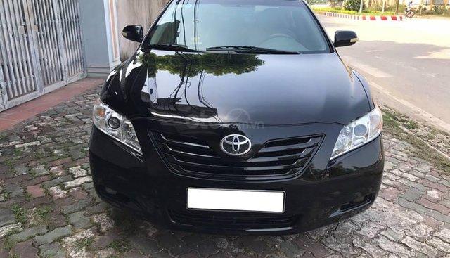 Cần bán xe Toyota Camry 2007 LE nhập Mỹ, màu đen long lanh
