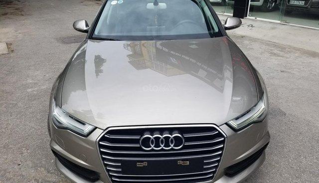 Cần bán Audi A6 Sx 2016, đăng ký 2017 màu nâu vàng