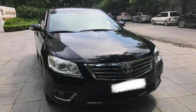 Cần bán xe Toyota Camry 3.5Q 2009 màu đen zin