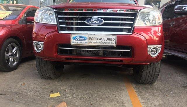 Cần bán Ford Everest 2.5 L số tự động năm, sản xuất 2008, màu đỏ