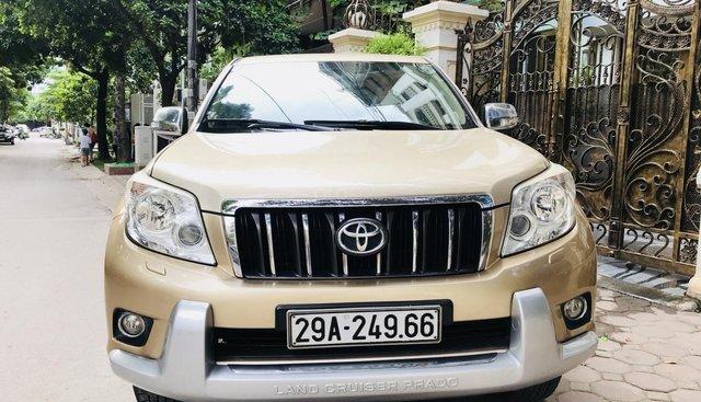 Bán Toyota Prado 2.7 TXL năm 2011, màu vàng