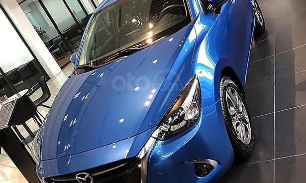 Cần bán Mazda 2 Premium đời 2019, màu xanh lam, xe nhập, 564 triệu