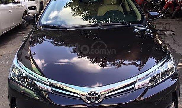 Bán Toyota Corolla altis 1.8G sản xuất 2019, màu đen, giá chỉ 765 triệu