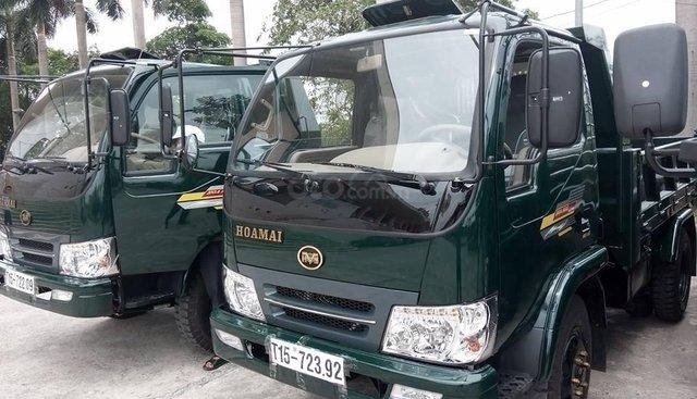 Hà Nội bán xe Hoa Mai Ben 3 tấn, 4 tấn xe động cơ Euro4 đời 2019 chạy êm như xe nhập khẩu