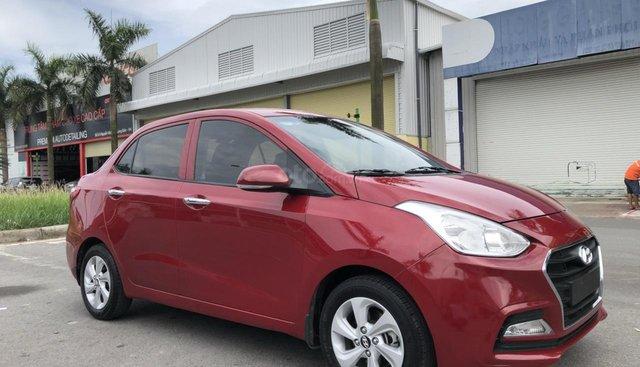 Bán xe Hyundai Grand i10 Sedan, số tự động 1.2L 2019, màu đỏ