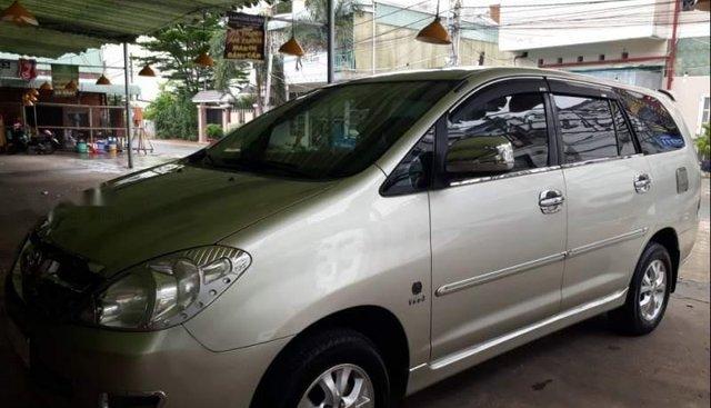 Cần bán lại xe Toyota Innova năm sản xuất 2007, bảo dưỡng định kỳ