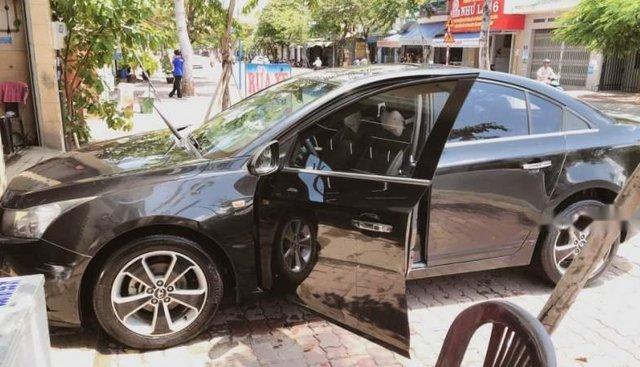 Bán Daewoo Lacetti sản xuất năm 2009, màu đen, nhập khẩu, ghế da