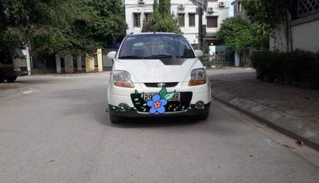 Cần bán lại xe Daewoo Matiz năm sản xuất 2007, màu trắng, 5 chỗ