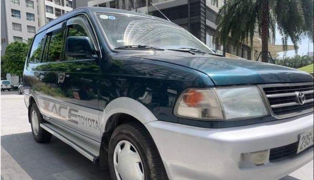 Cần bán lại xe Toyota Zace GL năm 2003, Đk 2003, Biển 29S 4 số, nội thất nỉ zin cả xe