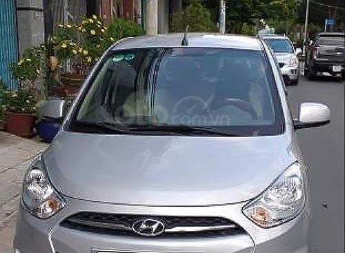 Bán Hyundai Grand i10 1.1 MT đời 2013, màu bạc, số sàn