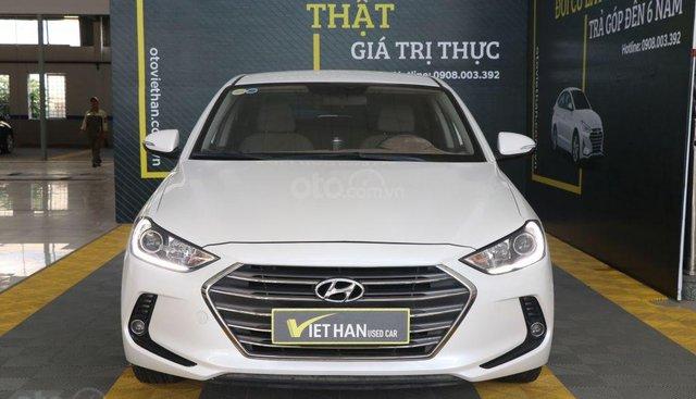 Bán Hyundai Elantra GLS 1.6MT sản xuất năm 2017, màu trắng