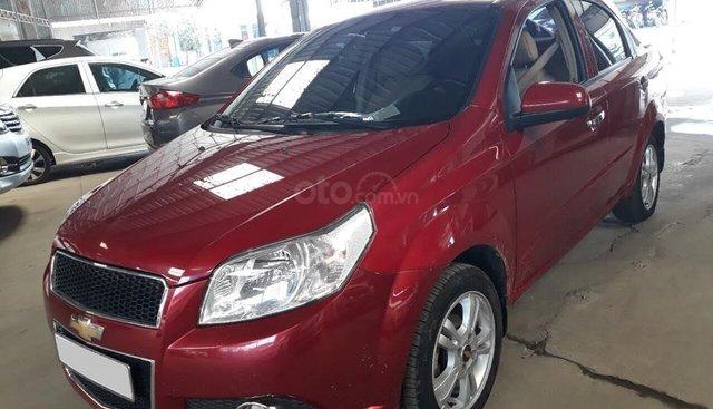 Cần bán xe Chevrolet Aveo LT 2017, số sàn, màu đỏ