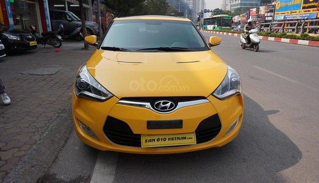 Bán xe Hyundai Veloster 1.6 AT năm sản xuất 2011, màu vàng, nhập khẩu, giá chỉ 475 triệu
