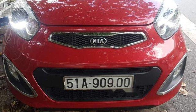 Bán Kia Picanto S 1.25 2014, màu đỏ, số sàn, giá 300tr