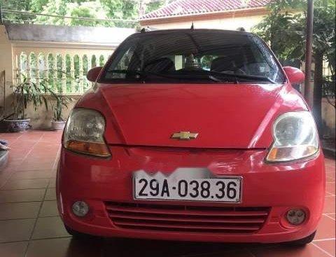Bán Chevrolet Spark đời 2010, màu đỏ, xe gia đình